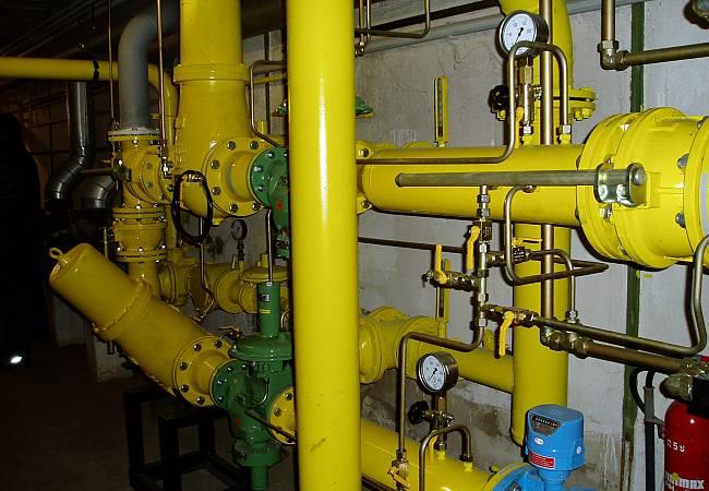 neue Gasdruckregelanlage